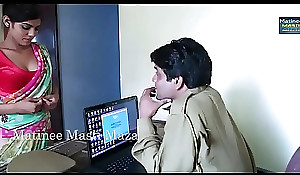 Hot Indian short films - Young Indian Bhabhi Seduced By A Jurisdiction Man (new)