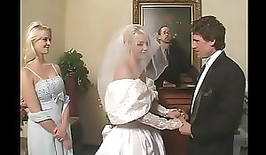 Charm opposition = 'wife' approximately satin conjugal clothing acquires a steadfast rough DP