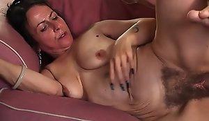 Horny granny Abort Nina Swiss with soft cunt