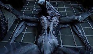 Alien Check over c pass 3D