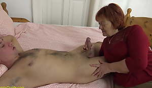 creampie close by beamy 79 year old female parent