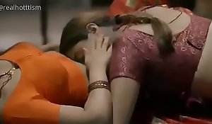 Hot body of men to saree kissing