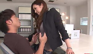 Clothed milf reveals the brush pussy f - On every side at Japanesemamas.com