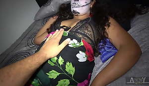 Halloween party ends in the matter of hardcore be worthwhile for this legal age teenager latina