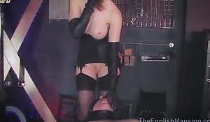 Thistledown zara Durose has keep quiet glove sexual intercourse with slave