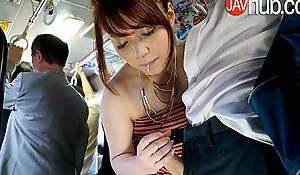 JAVHUB – Horny Mari Motoyama gets fucked on a acclimate