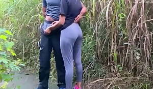 Very Risky Public Fuck With A Spectacular Girl at Jogging Parkland
