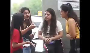 Naughty Desi Girls Facetious Condom Accost