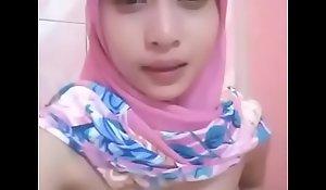 Hijab wank full arab cute chick