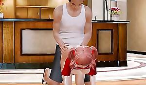 [ Honey Ungentlemanly 3D ] Ep.02 Young girl added to granpa