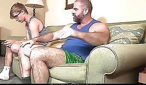 FamilyDick - Beefy procreate fucks his muscle stepson